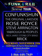 The Funk and R&B Festival Tour